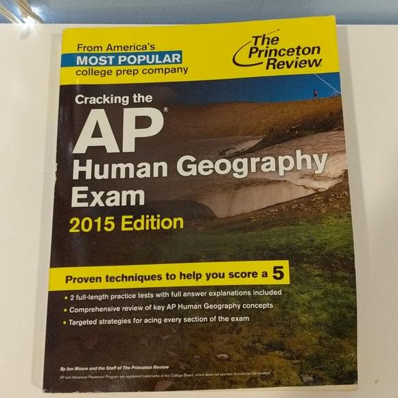 AP human geography exam prep book 2015